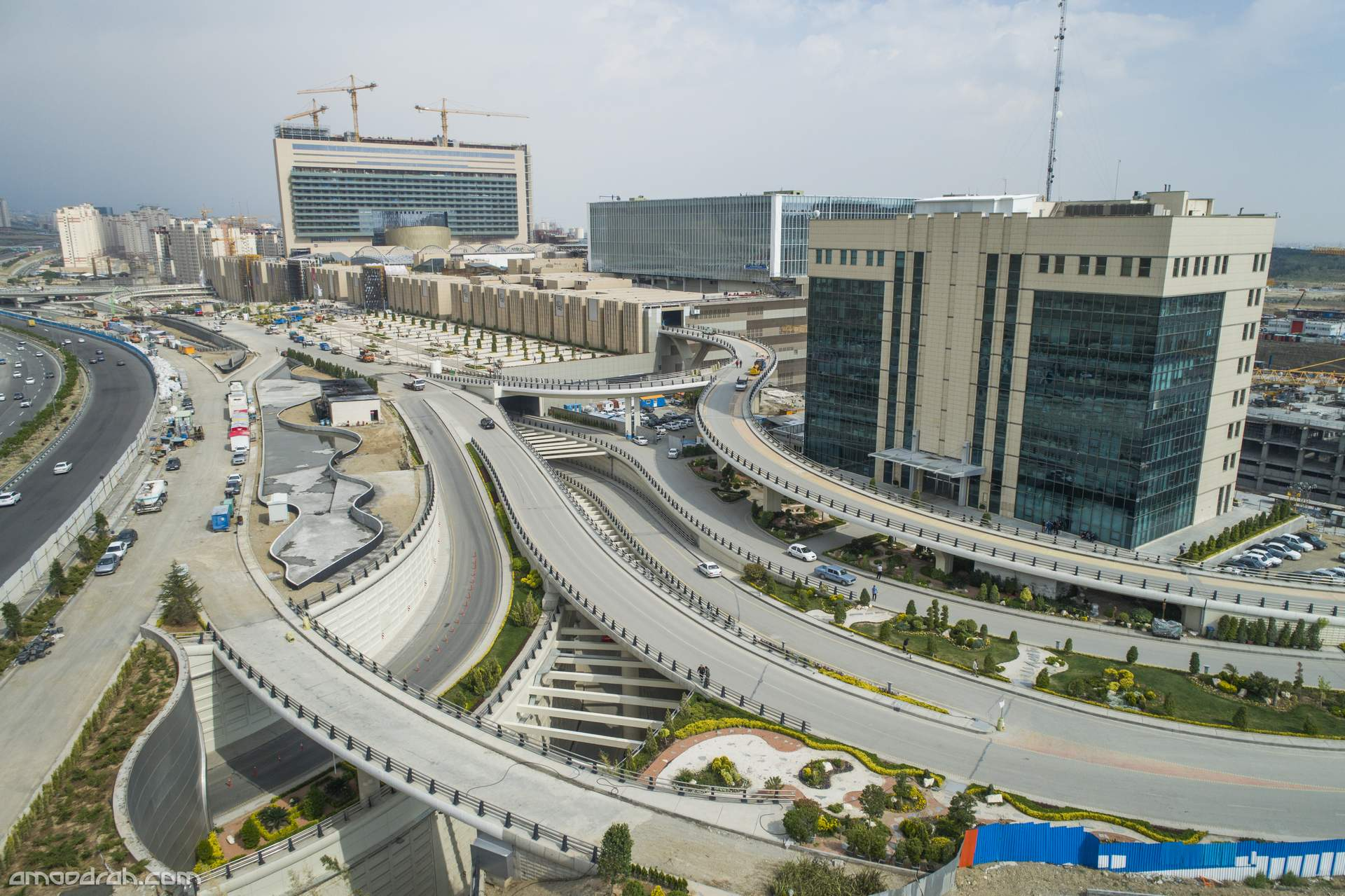 Iran Mall Access Roads Amoodrah Consulting Engineers